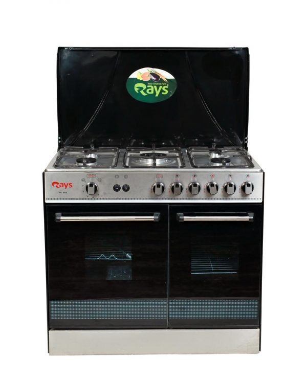 Rays Cooking Range 5 Burner 555-SC